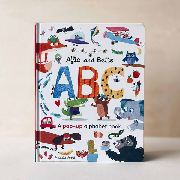 ABC: A pop-up alphabet book