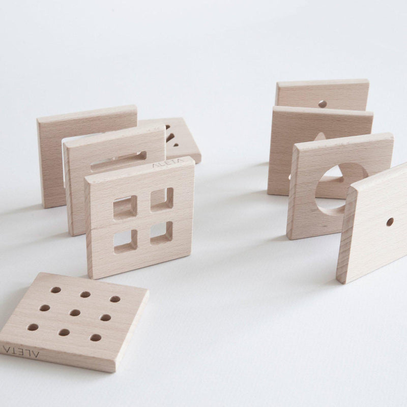 Aleta kids I Spy Wooden Blocks