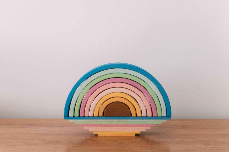 avdar rainbow stacker pastel medium
