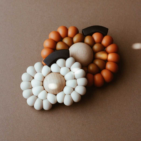 Newborn gift set - Pumpkin teether