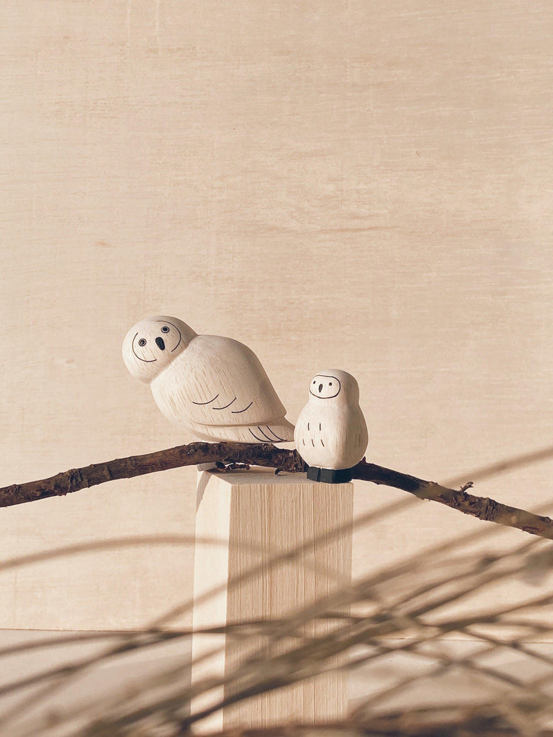 poletoko polepole parent and child set owl