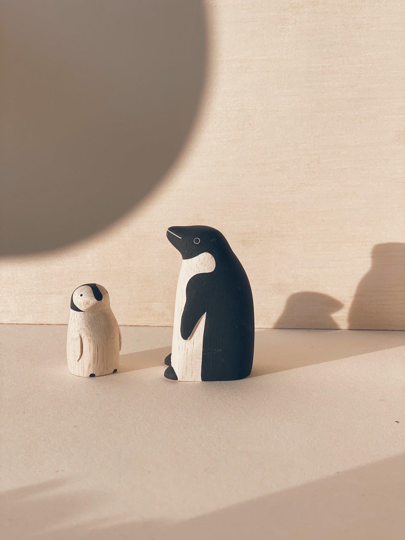 poletoko polepole parent and child set penguin