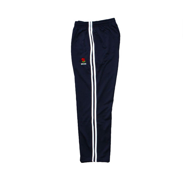 Rose Logo 2 LINE Jersey Pants - Navy