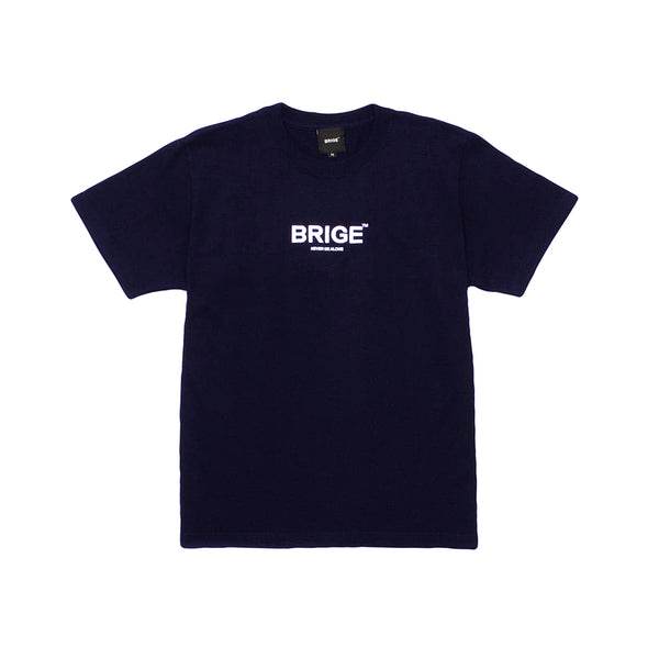 BRIGE Logo Tee - Unisex Fitting - Navy