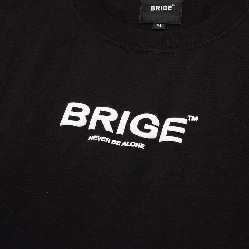 BRIGE Logo Tee - Unisex Fitting - Black