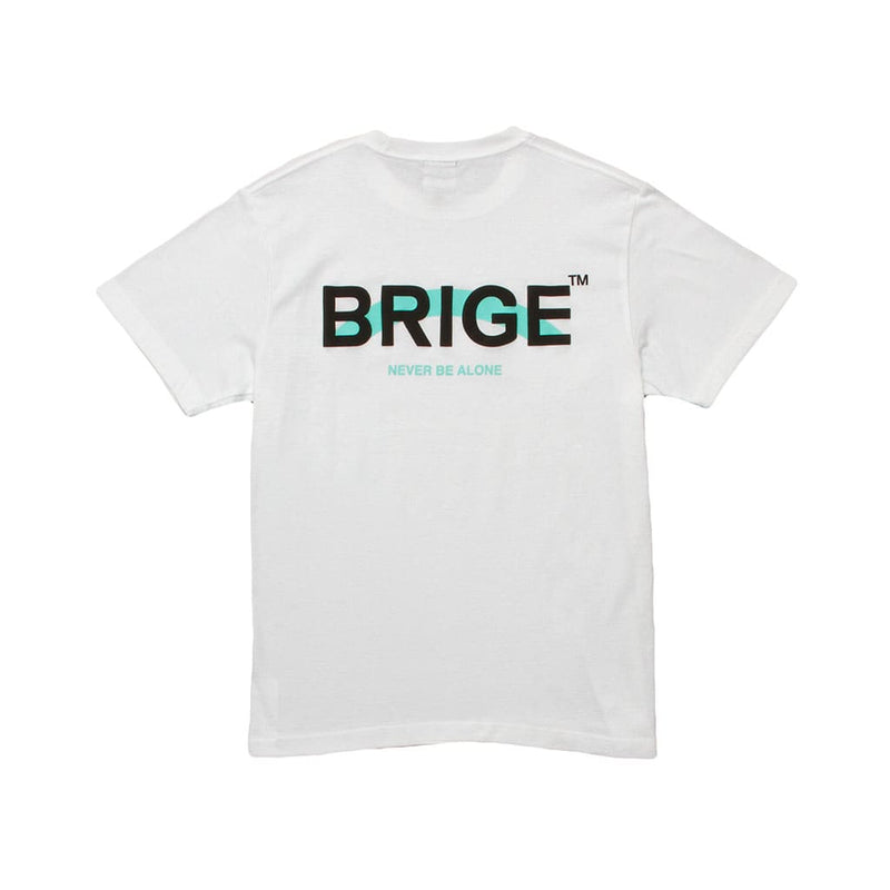 BRIGE Logo Tee - Unisex Fitting - White