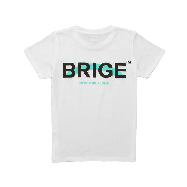 BRIGE Logo Women's Fit Tee - White