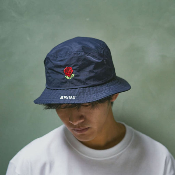 Rogo Logo Bucket Hat - Navy