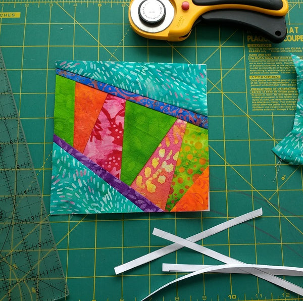 Ziggy Paper Piecing Pattern