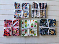 Quilted Coaster Sets - Various Prints