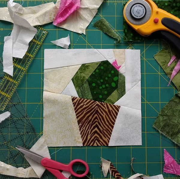 Cacto Paper Piecing Pattern