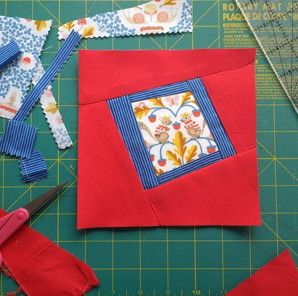 Wonky Frames Paper Piecing Pattern