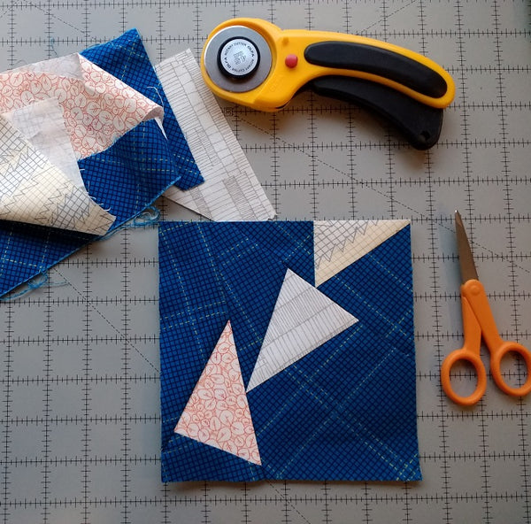 Wonky Geese Paper Piecing Pattern