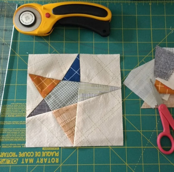 Wonky Star Paper Piecing Pattern