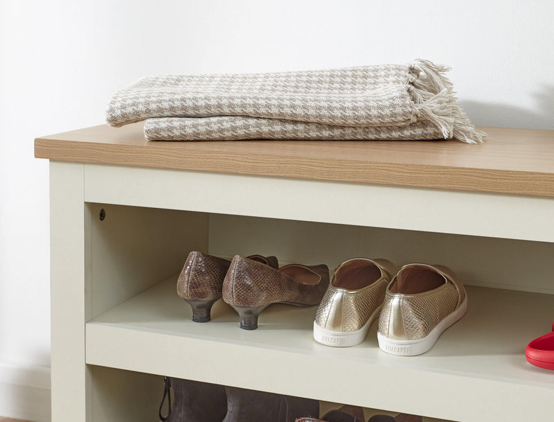 Lancaster Simple Shoe Bench - Bankrupt Beds