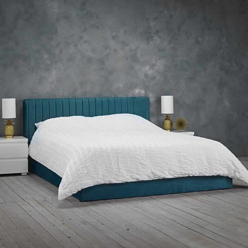 Berlin Teal Double Bed