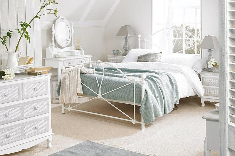 Bronte 4.6 Double Bed White