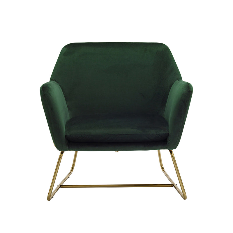 Charles Armchair Racing Green