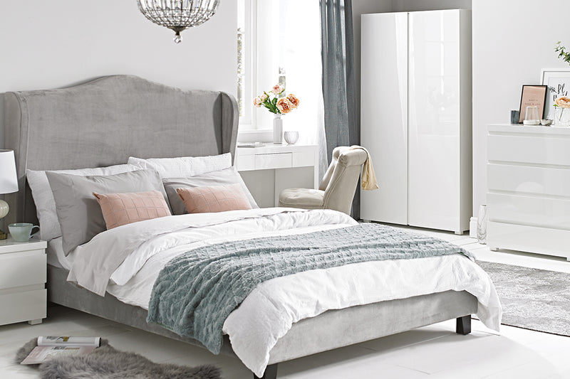 Chateaux 4.6 Double Bed Silver
