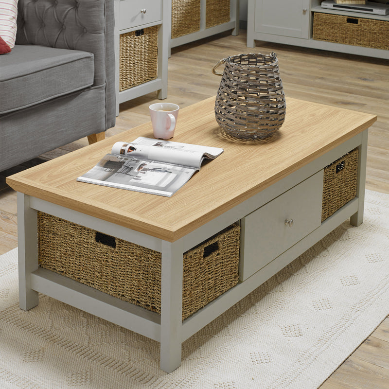 Cotswold Coffee Table Grey