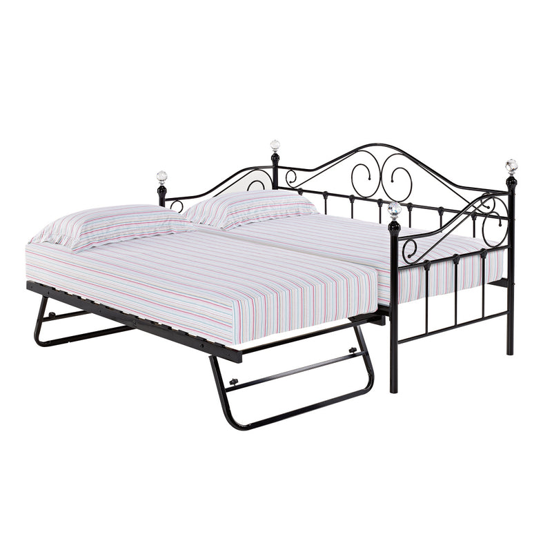 Florence Trundle Black (bed sold separately)