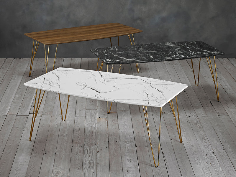 Fusion Coffee Table White Marble