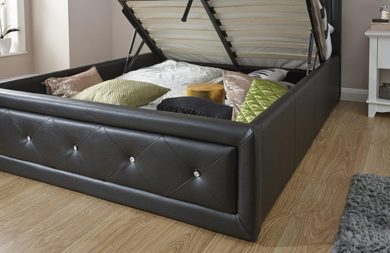 Hollywood 135cm Ottoman Bed - Bankrupt Beds