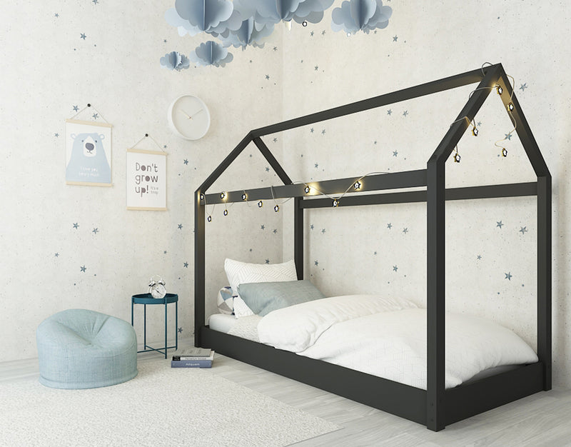 Hickory 3.0 Single Bed Black