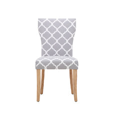 Hugo Dining Chair Patterned (2PK)