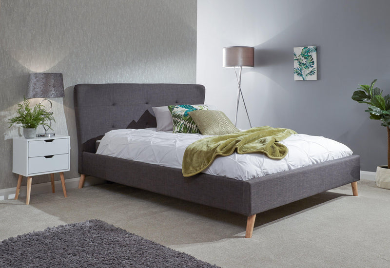 Carnaby Wing Bed 135cm - Bankrupt Beds