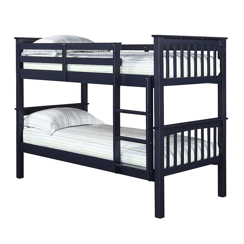 Leo Bunk Bed Navy