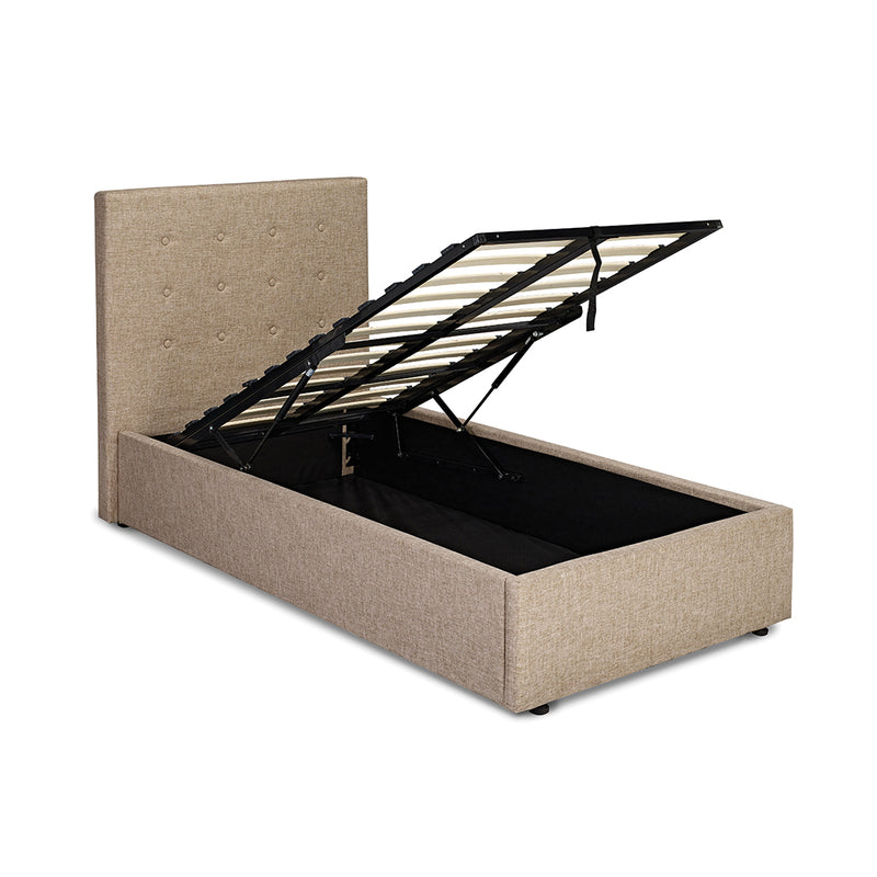 Lucca Plus 3.0 Single Bed Beige