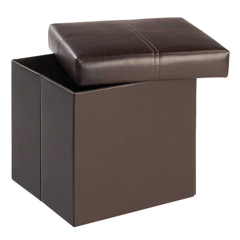 Madrid Storage Ottoman Small Brown