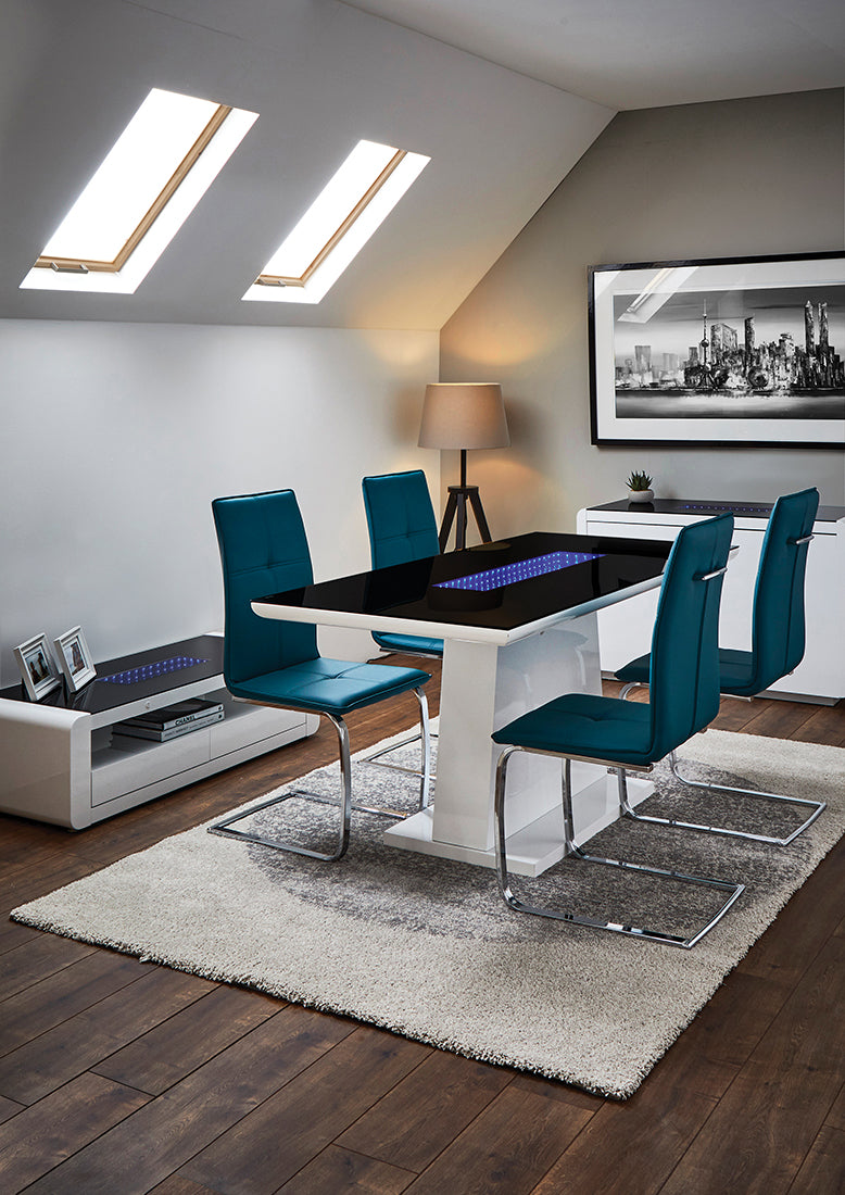 Matrix Dining Table White