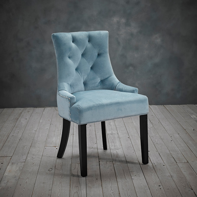 Morgan Chair Blue (Pack Of 2)