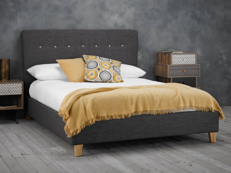 Portico 5.0 Kingsize Bed Grey