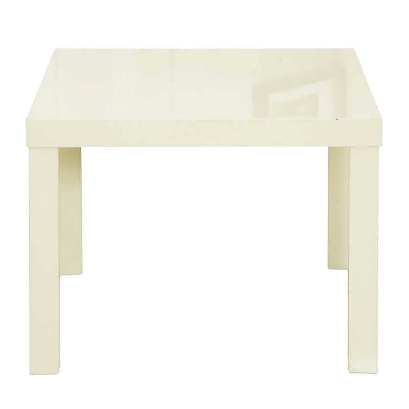 Puro End Table Cream