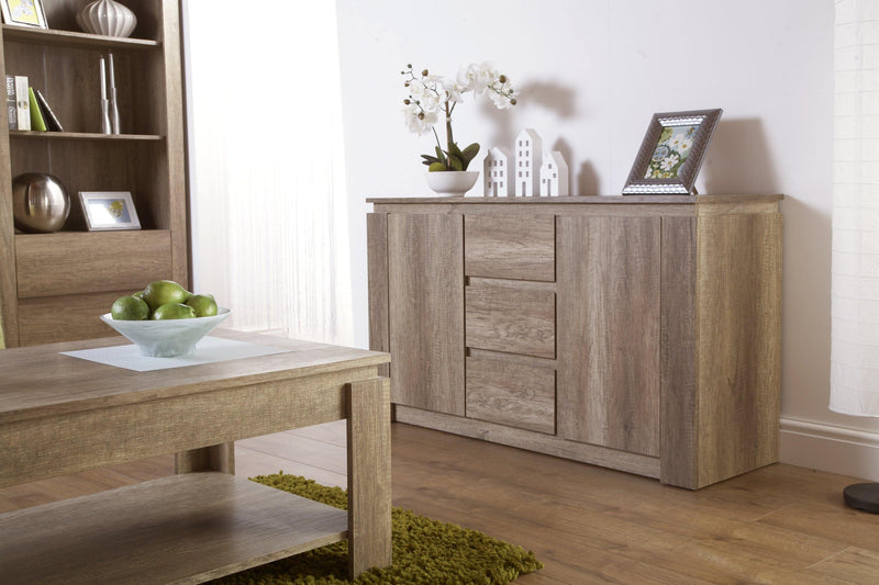 Canyon Oak Sideboard - Bankrupt Beds