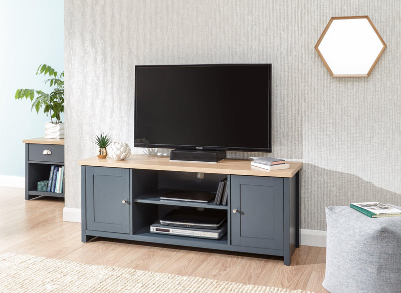 Lancaster Large TV Cabinet - Bankrupt Beds