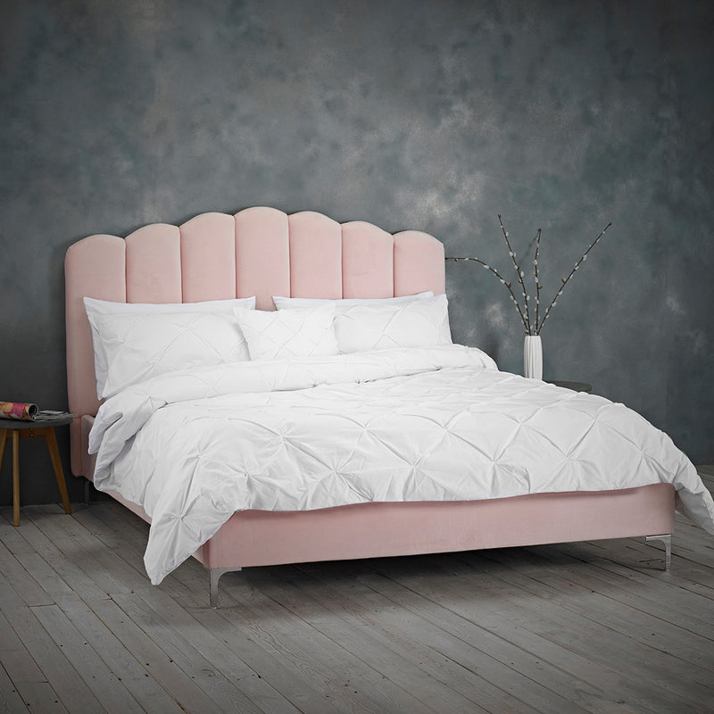 Willow Double Bed Pink