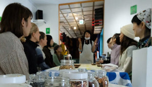 nicao chocolate-making event at SPROUT, Kutchan