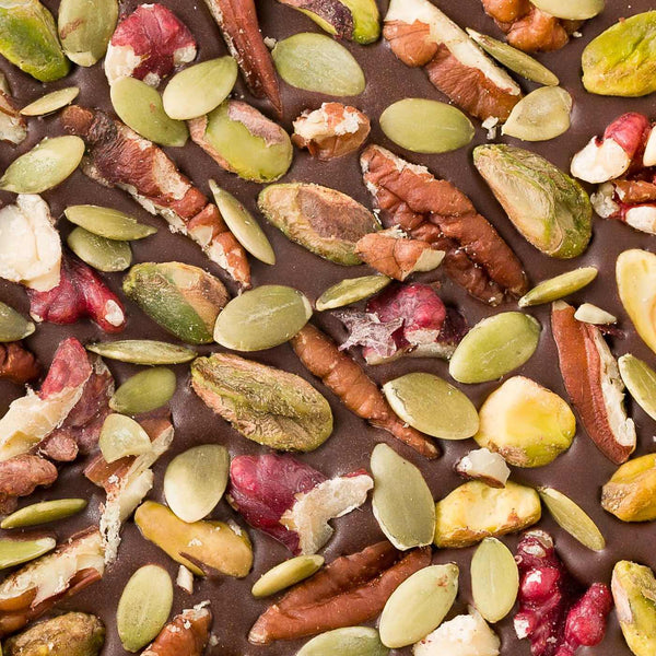 Let's Go Nuts Chocolate Bark