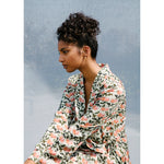 Load image into Gallery viewer, Poppy Print Cowl Suit