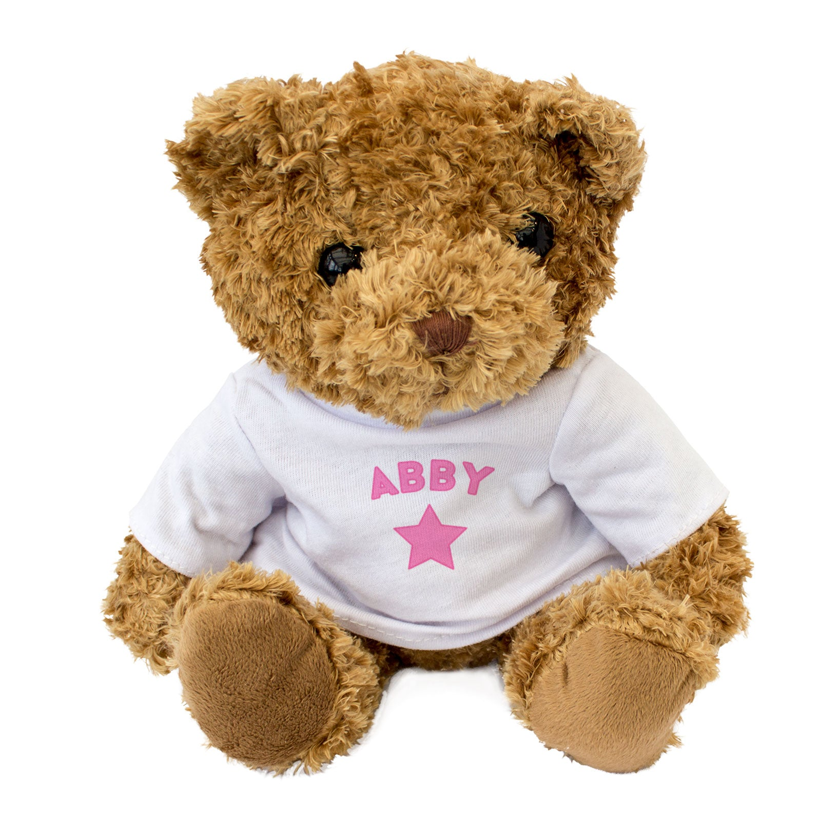 Abby Personalised Name Teddy Bear Christmas Birthday Gift