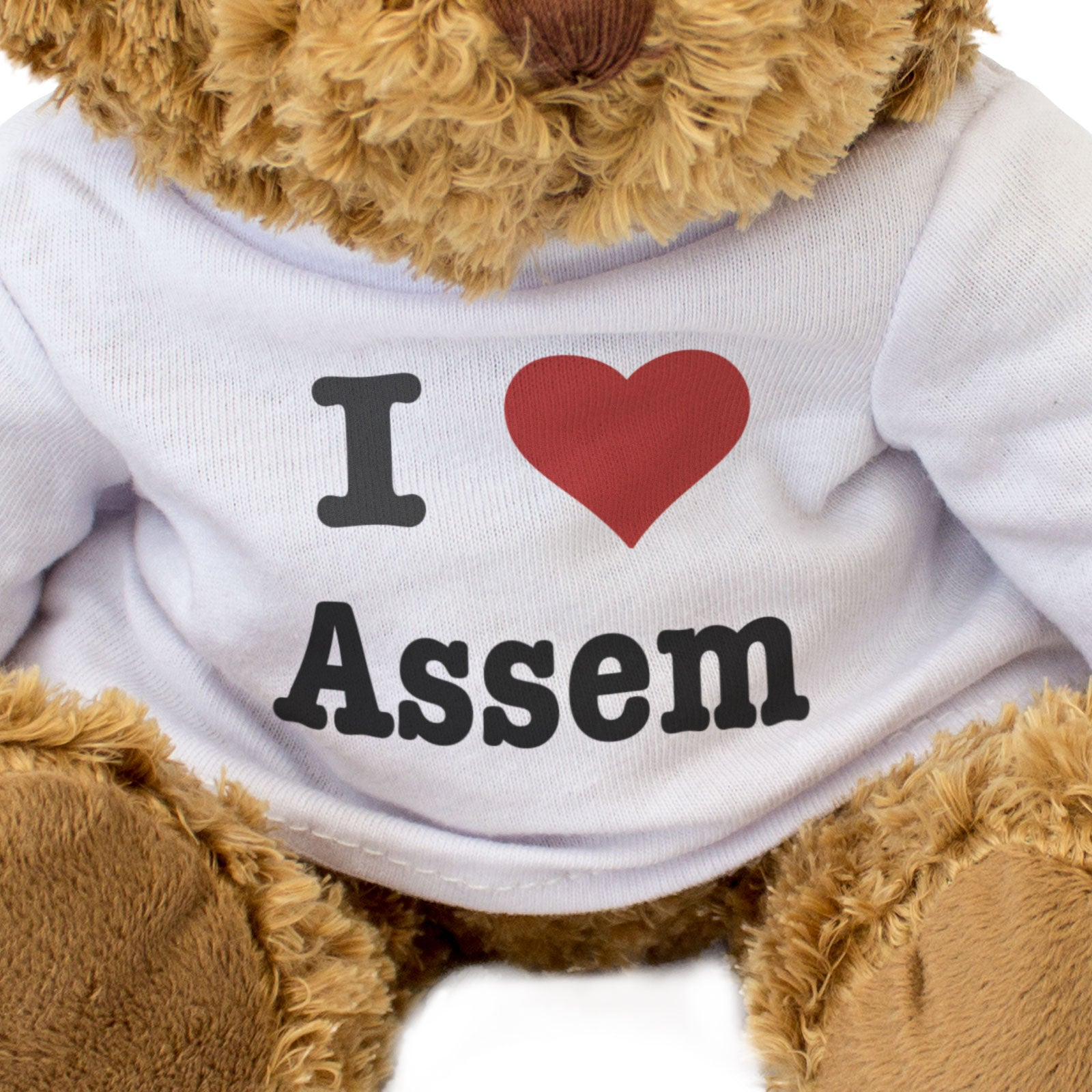 I Love Assem - Teddy Bear