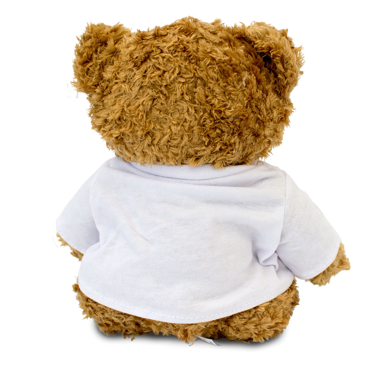 Back of teddy bear