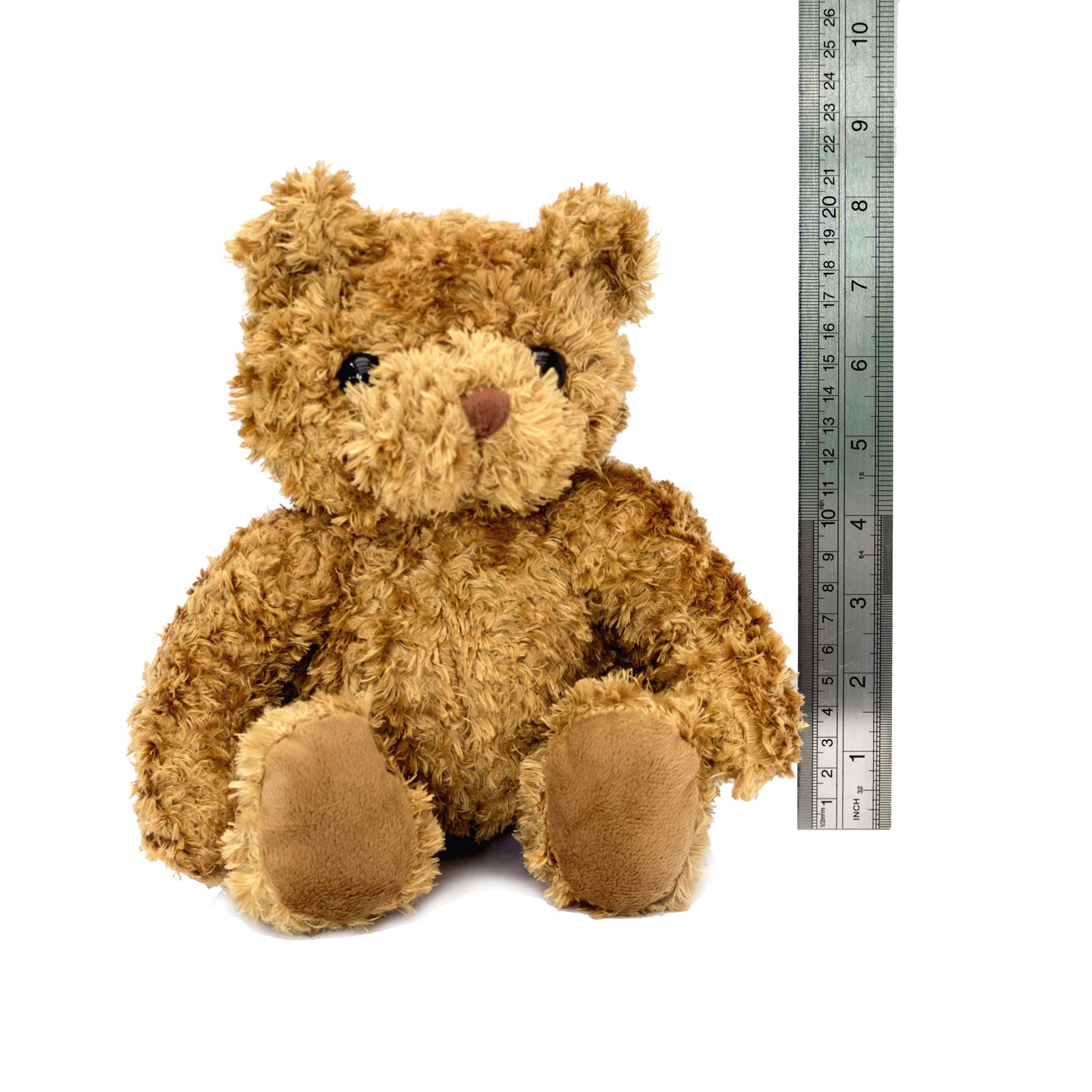 8 Inch Seated Teddy Bear with Ruler