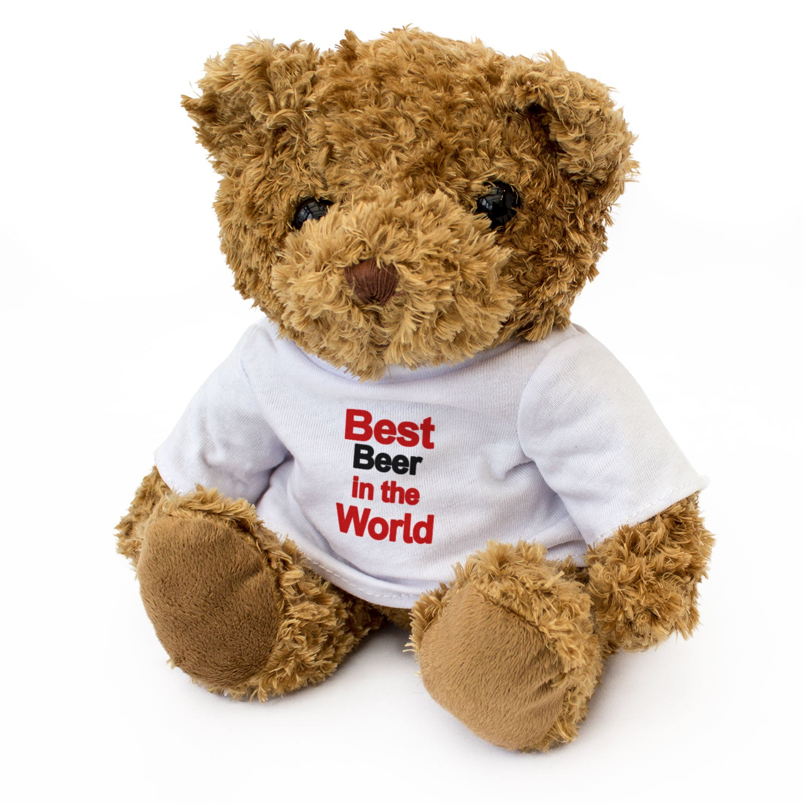 Best Beer In The World Teddy Bear Gift for Beer Lovers