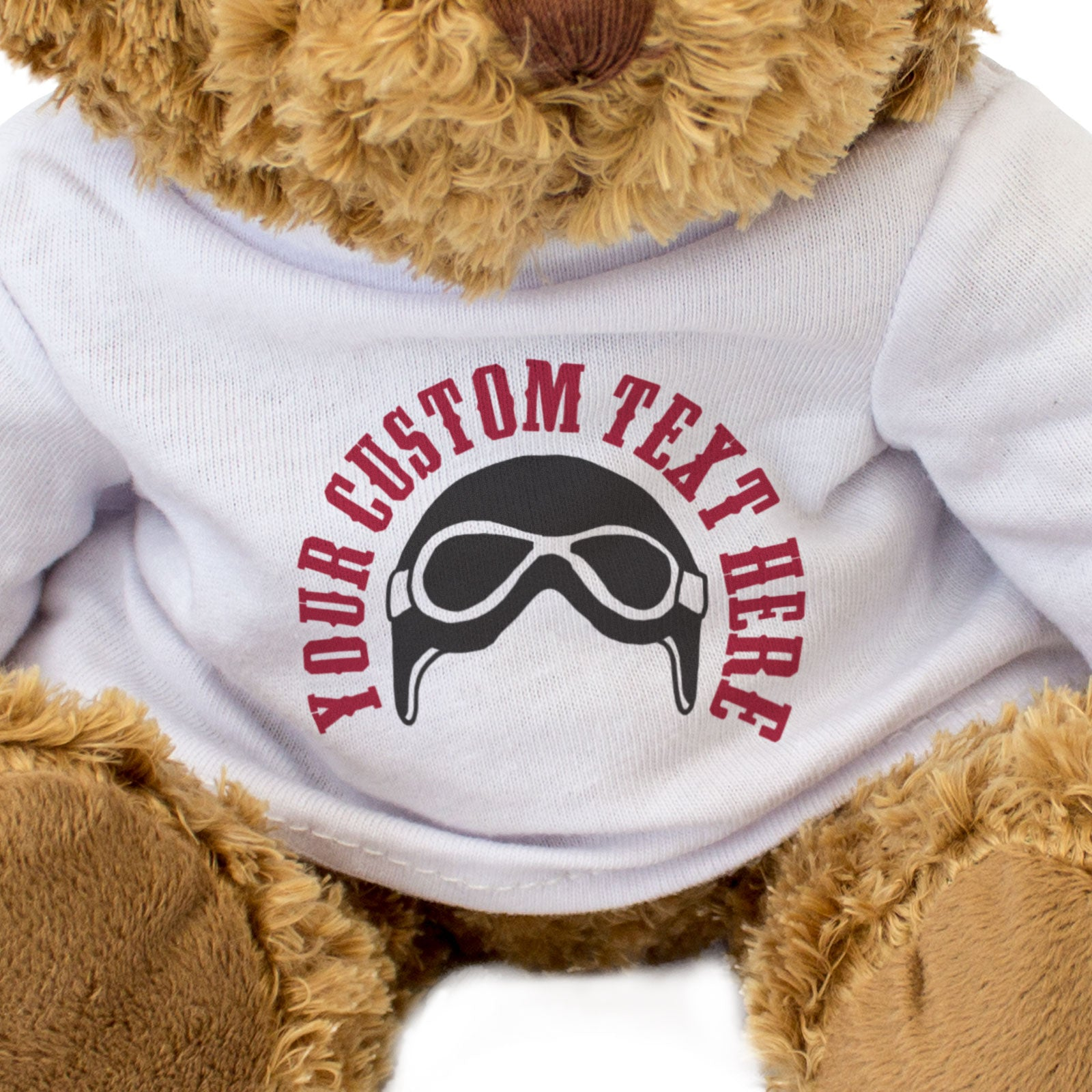 Biker Custom Teddy Bear Christmas Birthday Gift