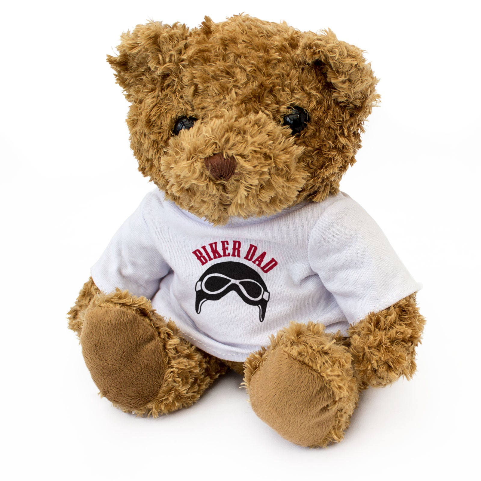 Biker Dad Teddy Bear Christmas Birthday Gift
